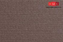 Auhagen 52237 Kőmintás támfal műanyagból, 4 db (H0,TT,N)