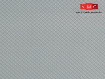 Auhagen 52415 Dekorlap, palatető, szürke, 1 db (H0/TT)