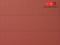 Auhagen 52430 Dekorlap hullámlemez, vörösbarna, 1 db