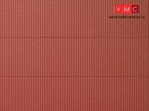 Auhagen 52430 Dekorlap hullámlemez, vörösbarna, 1 db (H0/TT)