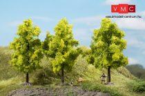 Auhagen 70937 Lombos fák, 3 db, világoszöld - 11 cm