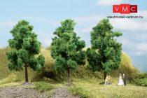 Auhagen 70938 Lombos fák, 3 db, sötétzöld - 11 cm