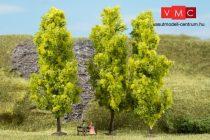 Auhagen 70939 Lombos fák, 3 db, világoszöld - 15 cm