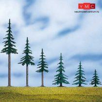 Auhagen 71915 Fenyőfa talppal, 5 db - 9 cm magas (H0/TT)
