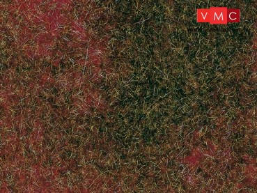 Auhagen 75115 Mező fűlap, vöröseszöld, 50x35 cm