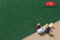 Auhagen 75602 Szórható fű, sötétzöld, 2,5 mm szálhosszúság