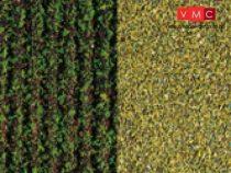 Auhagen 76941 Fűlap, krumpliföld, zöld, durva szemcsenagyság, 33x22 cm