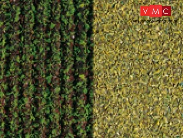 Auhagen 76941 Fűlap, krumpliföld, zöld, durva, 33x22 cm