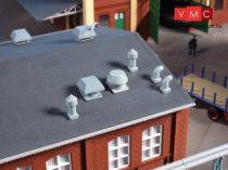 Auhagen 80103 Szellőzők gyárépületekhez (H0)