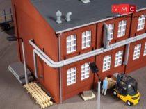 Auhagen 80104 Csőrendszer gyárépületekhez, tartóoszlopokkal (H0)