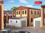 Auhagen 80105 Melléképület, gépjárműgarázs ipari épületekhez (H0)