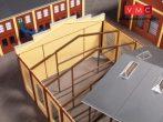 Auhagen 80106 Tartószerkezet gyárépületekhez (H0)