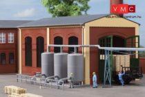 Auhagen 80111 Ipari gőztartályok csővezetékkel, 3 db (H0)