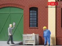 Auhagen 80212 Ablakkészlet ipari épületekhez L - 15 db (H0)