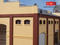 Auhagen 80215 Ablakkészlet ipari épületekhez M - 20 db, barna (H0)