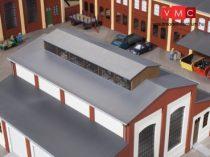 Auhagen 80303 Tetőelem felső világítóablakokkal ipari épületekhez (H0)