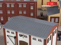 Auhagen 80305 Bádogtető ereszcsatornával, nagyobb épületekhez - 2 db (H0)