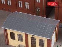 Auhagen 80306 Bádogtető ereszcsatornával, kisebb épületekhez - 2 db (H0)