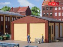 Auhagen 80406 Oromzat és épületsarok ipari épületekhez, téglavörös (H0)