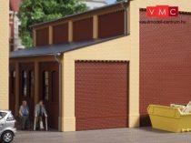 Auhagen 80409 Oldalépület oromzat ipari épületekhez, sárga (H0)