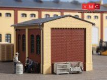 Auhagen 80413 Oromzat és épületsarok kisebb ipari épületekhez, sárga (H0)