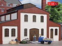 Auhagen 80718 Dekorlap, téglafal 2391A, ajtónyílással és ablakokkal L (H0) - vakolt fal