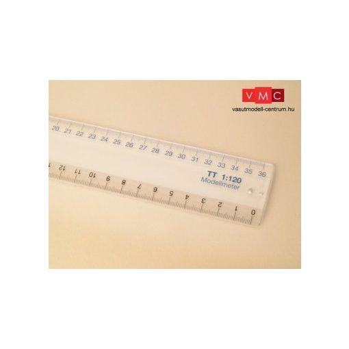 Auhagen 99005 Mértékvonalzó, TT