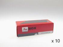Auhagen 99301 Tárolódoboz vasúti járműveknek - Au-BOX, 150×60×50 mm, 10 db