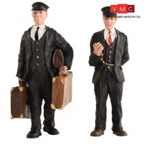 Branchline 16-702 Porter and Station Master