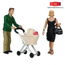 Branchline 22-173 G Scale Shopping People