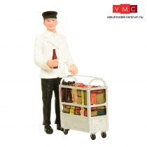 Branchline 22-185 Service Person with Minibar