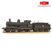 Branchline 31-086A GWR 32XX 'Earl' 9018 BR Black (Early Emblem) - Weathered