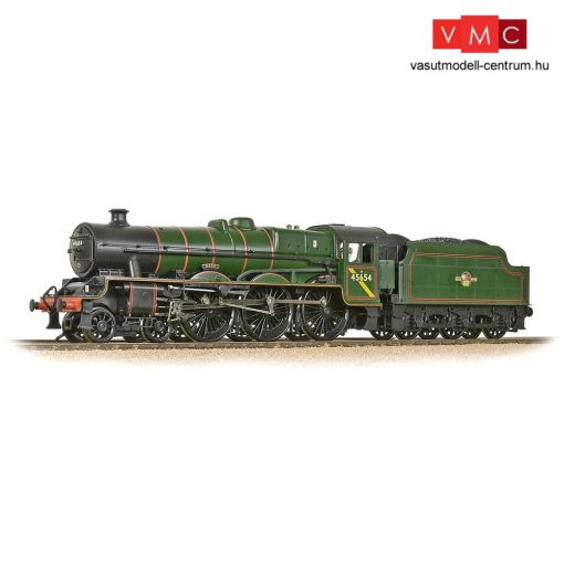 Branchline 31-186A LMS 5XP 'Jubilee' with Riveted Tender 45654 'Hood' BR Lined Green (Late Crest)