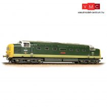Branchline 32-533 Class 55 'Deltic' D9001 'St. Paddy' BR Two-Tone Green (Full Yellow Ends) - Weathered
