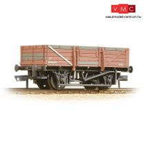 Branchline 33-087 5 Plank China Clay Wagon BR Bauxite (Early) - Weathered