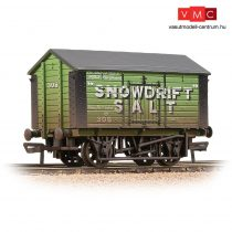 Branchline 33-182A 10T Covered Salt Wagon 'Snowdrift Salt' Green - Weathered