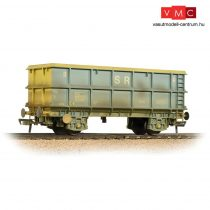 Branchline 33-435C SSA Scrap Wagon 'Standard Railfreight' Blue & Yellow - Weathered