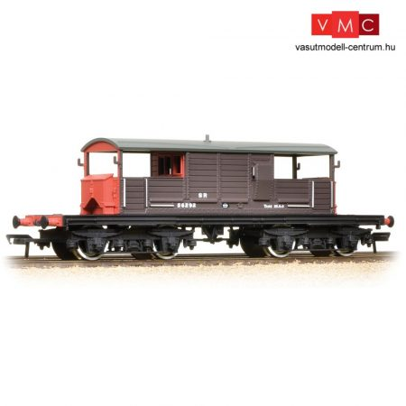 Branchline 33-827C SR 25T 'Queen Mary' Brake Van SR Brown