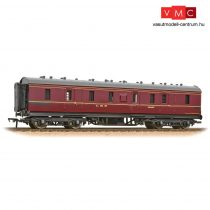 Branchline 34-327E LMS Stanier 50ft Full Brake LMS Crimson Lake