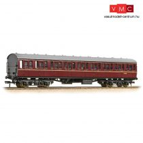 Branchline 34-604C BR Mk1 57ft 'Suburban' S Second BR Maroon - Includes Passenger Figures