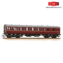 Branchline 34-630B BR Mk1 57ft 'Suburban' BS Brake Second BR Maroon - Includes Passenger Figures