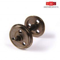 Branchline 36-015 Metal 3-Hole Wagon Wheels (x10)