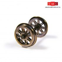 Branchline 36-028 Metal Split Spoked Wagon Wheels (x10)