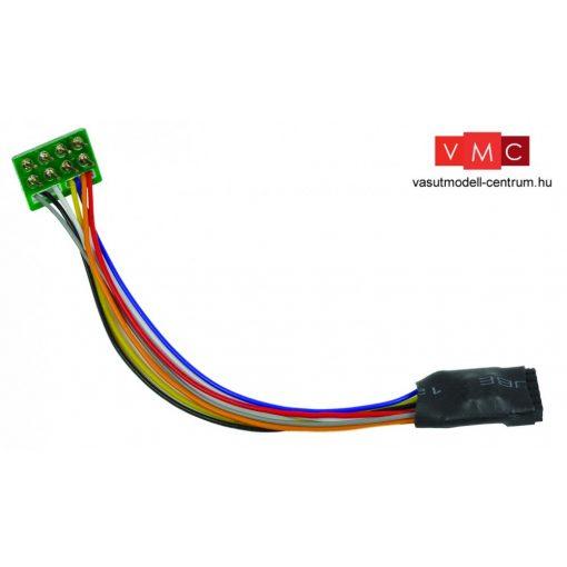 Branchline 36-563 6 Pin Decoder Socket with 8 Pin Plug (x3)