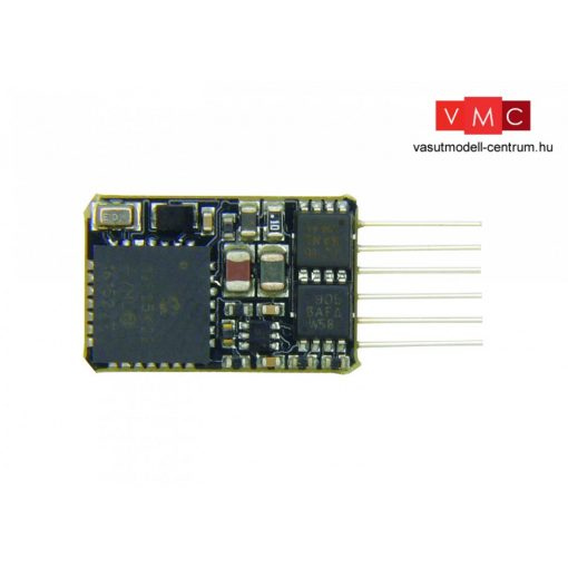 Branchline 36-568A 6 Pin DCC Loco-Decoder with Back EMF featuring Railcom®