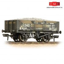 Branchline 37-039 5 Plank Wagon Steel Floor 'Helwith Bridge Road Stone' Grey - Weathered - Includes Wagon Load