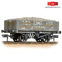 Branchline 37-040 5 Plank Wagon Steel Floor 'ICI' (Lime) Ltd.' Grey - Weathered - Includes Wagon Load