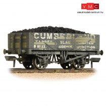 Branchline 37-071 5 Plank Wagon Wooden Floor 'Cumberland' Grey - Weathered - Includes Wagon Load
