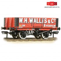 Branchline 37-072 5 Plank Wagon Wooden Floor 'W. H. Wallis & Co' Red