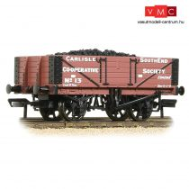 Branchline 37-073 5 Plank Wagon Wooden Floor 'Carlisle Co-Op' Brown - Includes Wagon Load